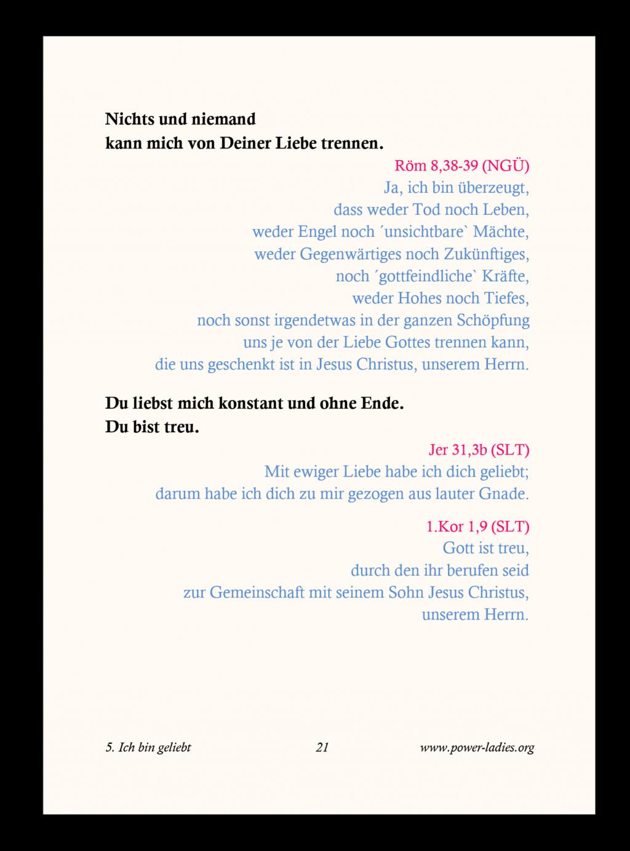 Proklamationsbüchlein Seite 21