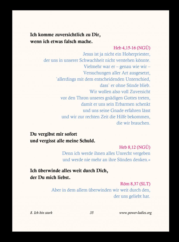 Proklamationsbüchlein Seite 35